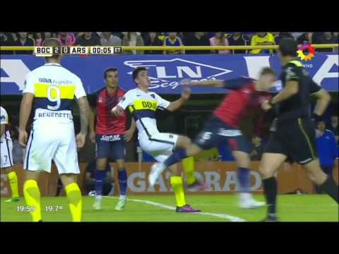 Boca Juniors 3 - 0 Arsenal - Fecha 22 Torneo Argentino 2016/17