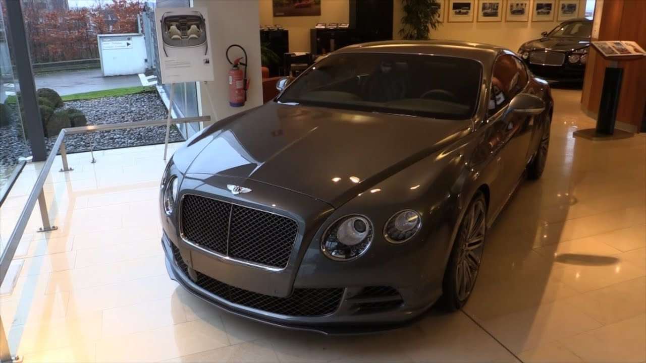 Bentley Continental Gt W12 Speed 2016 In Depth Review