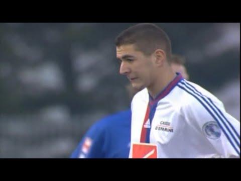 Young Karim Benzema