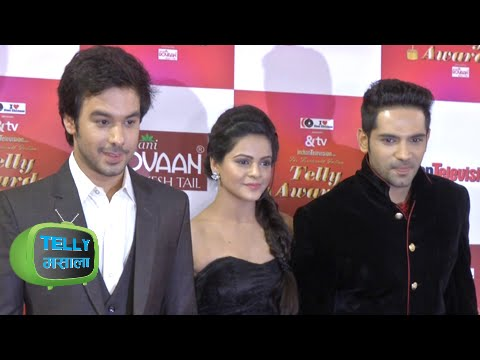 Dhruv Sings for Thapki On Red Carpet   Indian Telly Awards 2015