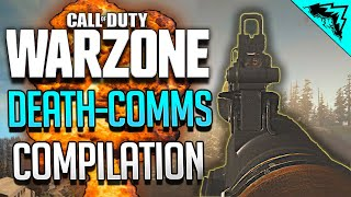 ULTIMATE Warzone Death Comms Compilation