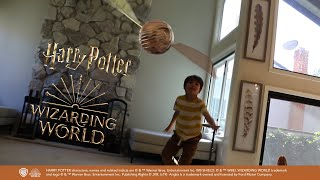 Action Movie Kid and the Wizarding World  Sponsored by Warner Bros