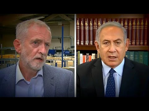 Guerra verbal entre Corbyn e Netanyahu
