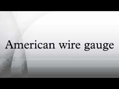 American wire gauge youtube greentooth Gallery
