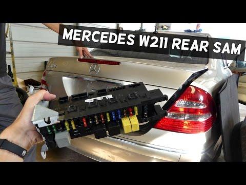 MercedesBenz W211 E Class E320 E350 E55 AMG Trunk Lid Electrical Problems | FunnyDogTV