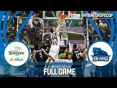 Sidigas Scandone Avellino (ITA) v Bakken Bears (DEN) -Semi-Final -Full Game -FIBA Europe Cup 2017-18