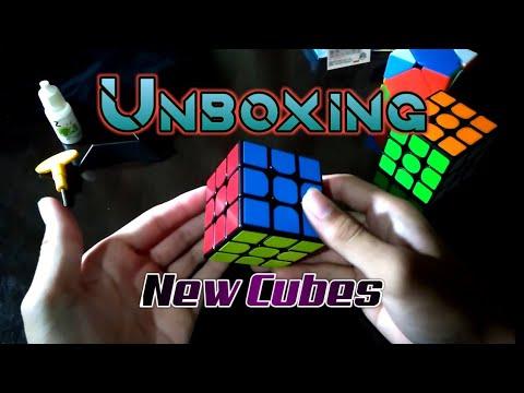 Unboxing New Cubes