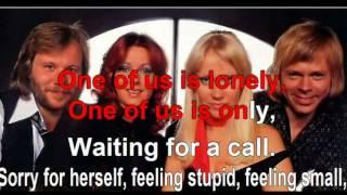 karaoke ABBA One Of Us
