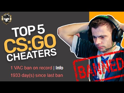 5 Notorious Cheaters Caught Hacking in CS:GO