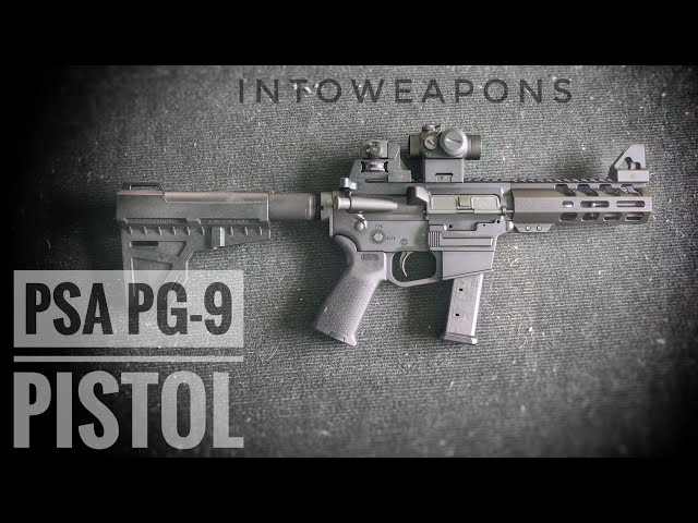 Palmetto Armory AR-9mm Shockwave PA-9 Pistol Review