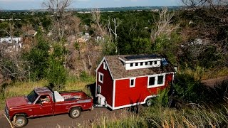 Explore Zack Giffin's Energy-saving Tiny House