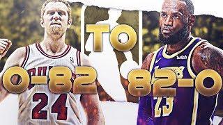 0-82 TO 82-0 REBUILD CHALLENGE! NBA 2K19!