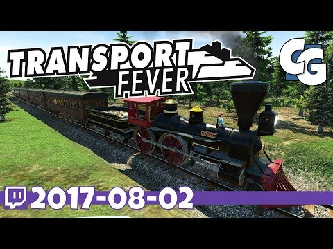 Transport Fever - VOD - 2017-08-02 - New Industries on a Fresh 1850 Map - Transport Fever Let's Play