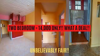 2 Bedroom 14k || SMALL TWO BEDROOM APARTMENT TOUR || Very spacious & affordable ❤👌SAVE💰