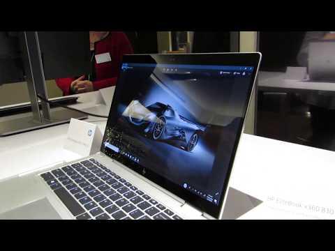 HP EliteBook x360 830 G5 convertible laptop