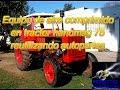 equipo de aire comprimido tractor hanomag