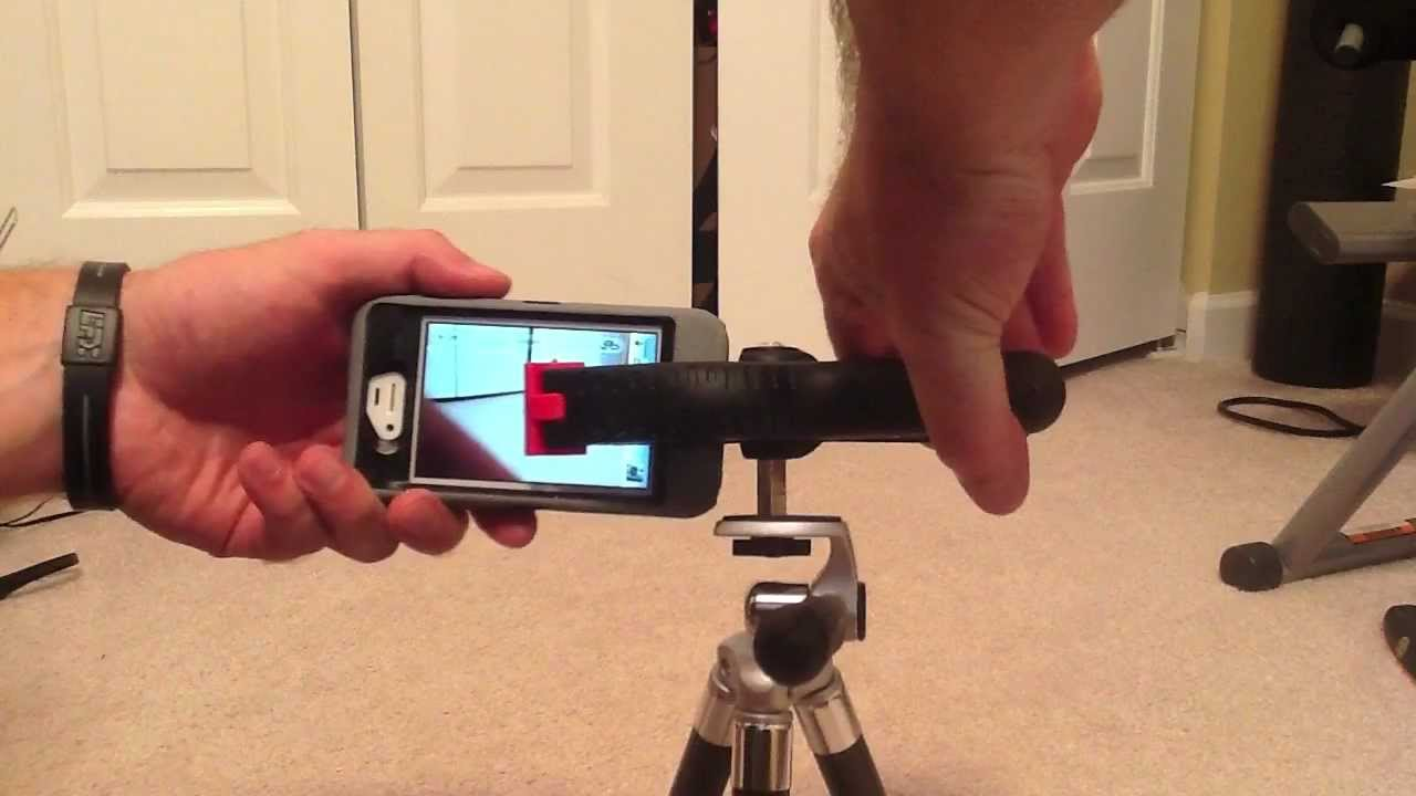 DIY iPhone or iPod Tripod Mount Under 5  YouTube