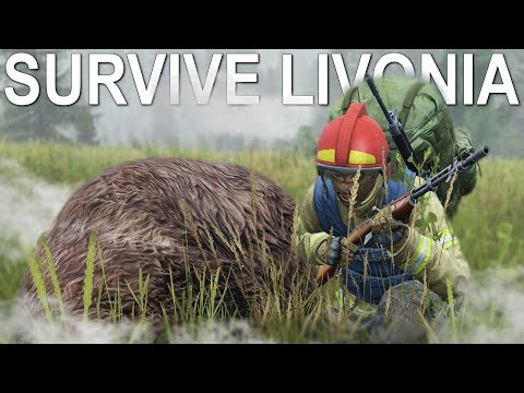SURVIVING LIVONIA THE NEW DAYZ MAP!