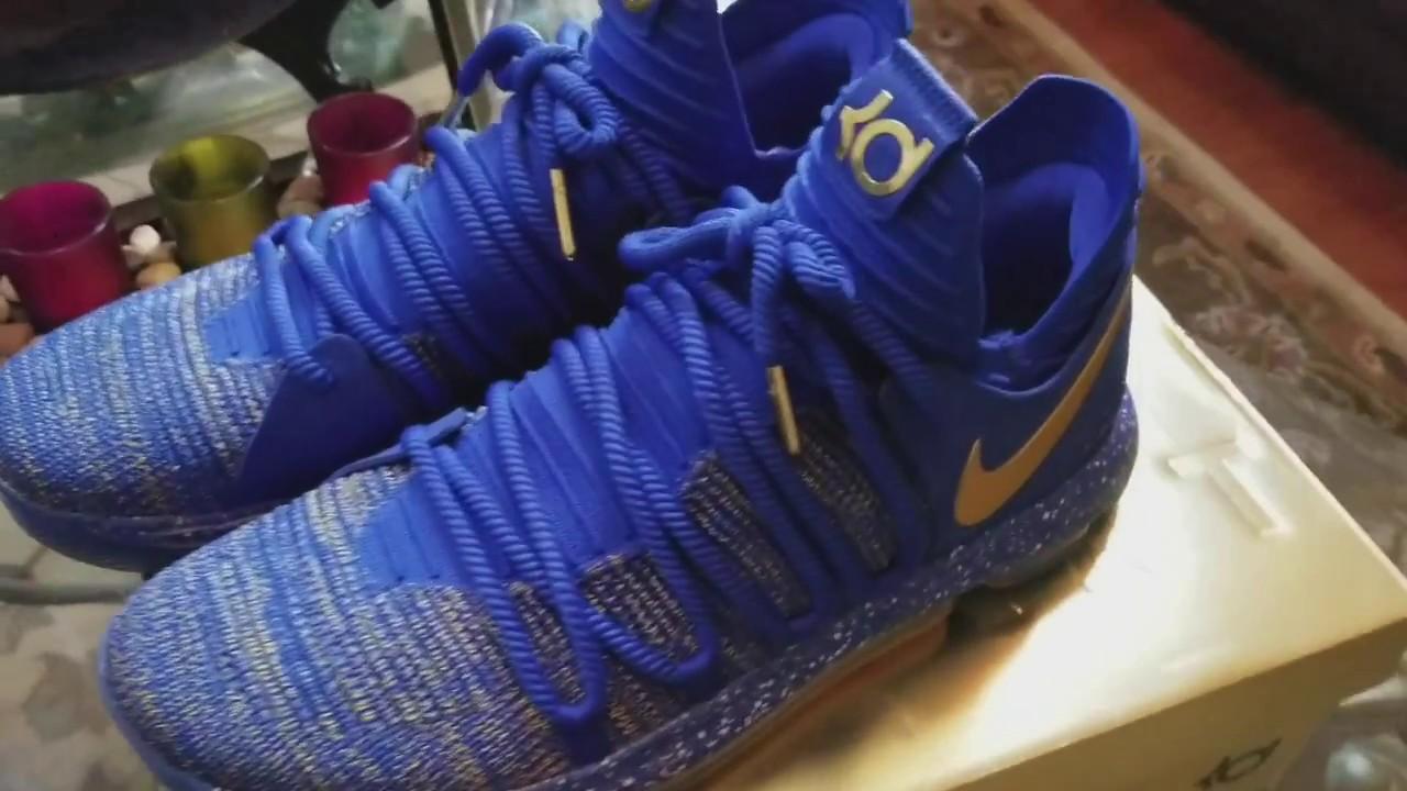 9fc421b6478c Nike KD X MVP aka Celebration Review and On Feet - YouTube