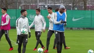 Hannover gegen Wolfsburg: Impressionen vom VfL-Training