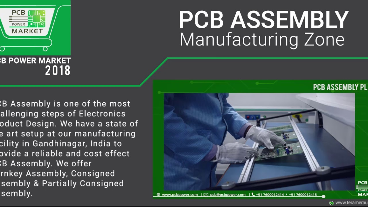 PCB Assembly Manufacturing Zone