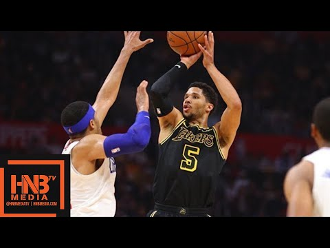 Los Angeles Lakers vs LA Clippers Full Game Highlights / April 11 / 2017-18 NBA Season