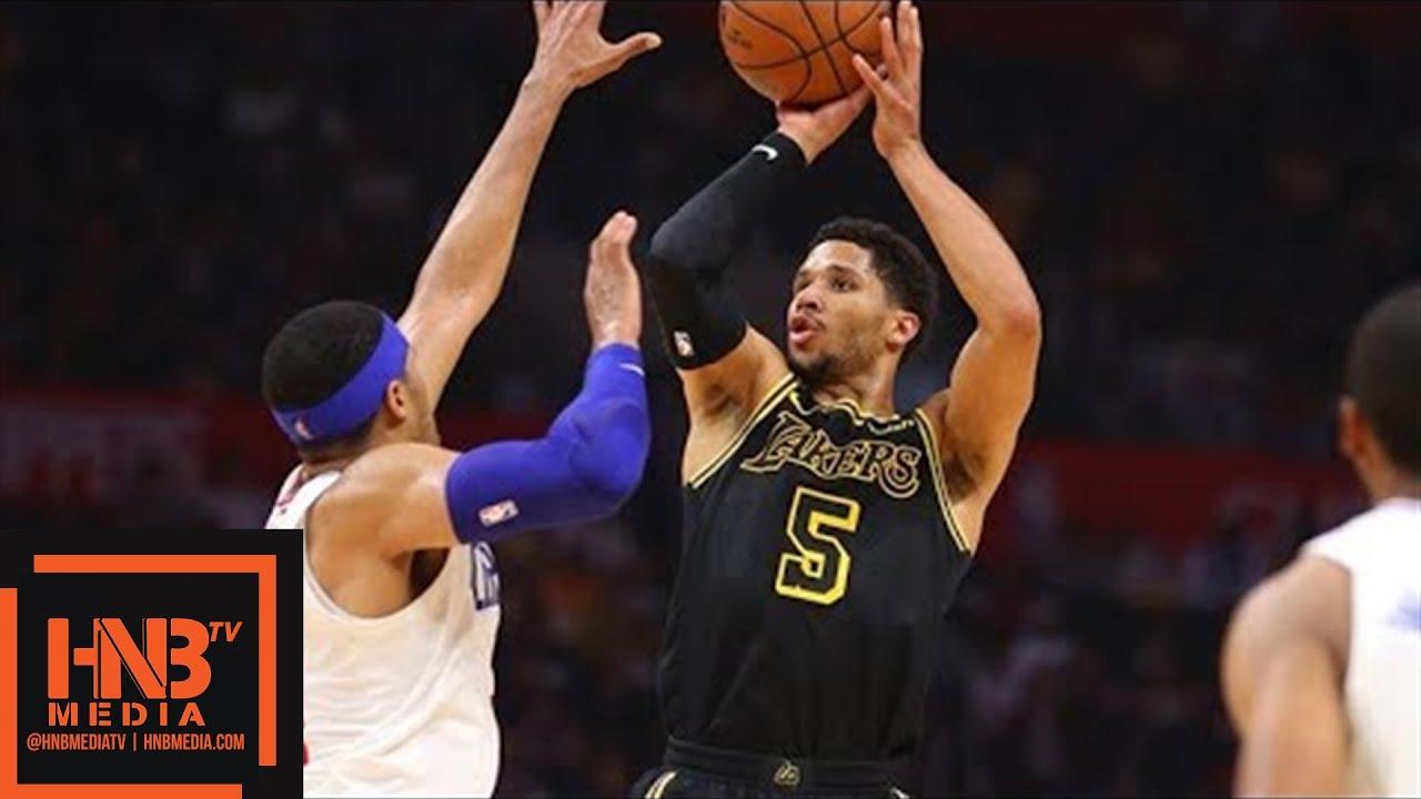 Los Angeles Lakers vs LA Clippers Full Game Highlights / April 11 / 2017-18 NBA Season