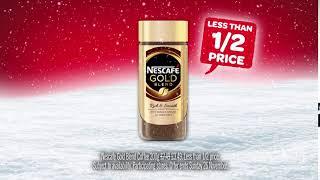 Week 7 of 12 Deals: Nescafe Gold Blend 200g Less Than 1/2 Price