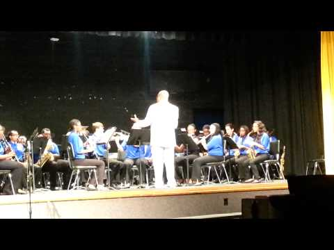 E.E. Smith Concert Band 2014 Part 1