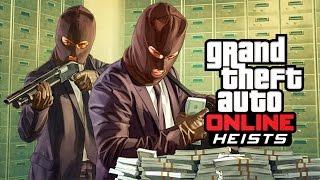 GTA 5 Online - Ограбление банка (1 часть)