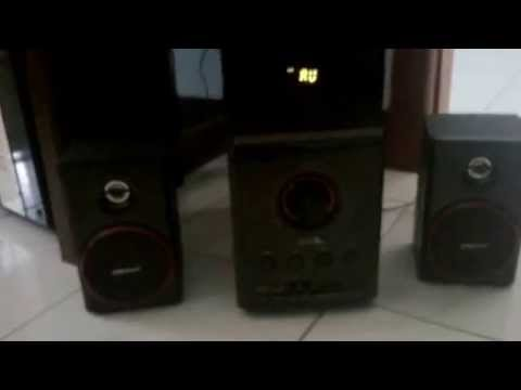 review speaker sonic gear evo 9 btmi 2 1 youtube. Black Bedroom Furniture Sets. Home Design Ideas