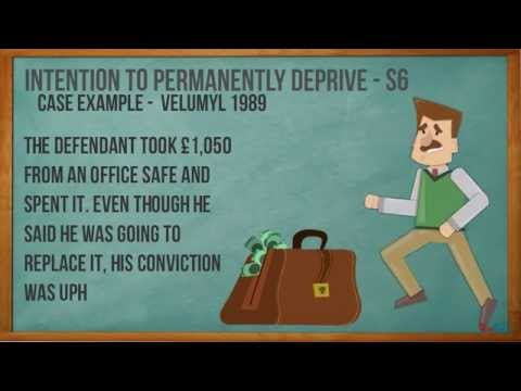 Theft - A2 Criminal Law