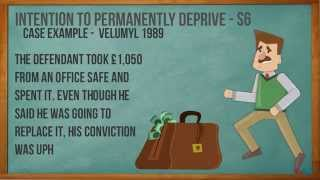 Theft - A2 Criminal Law