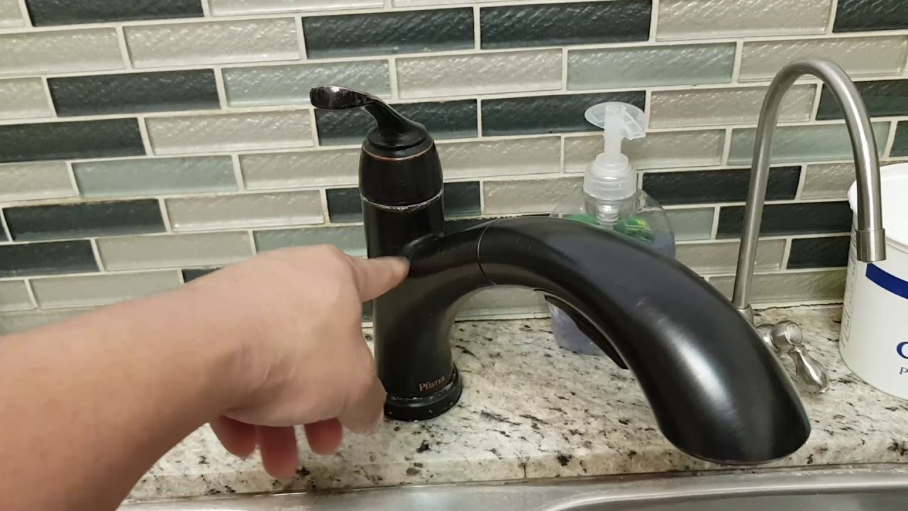 Fix Kitchen Faucet Hot Water Low Pressure Youtube