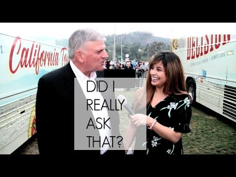 Vlog: Asking Franklin Graham a VERY bold question