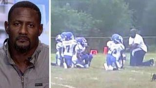 Tucker vs. Ex-NFLer: Kids' Kaepernick-inspired protest