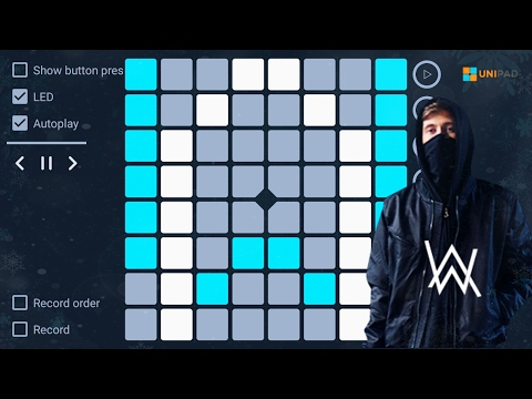 Unipad - Alan Walker - Alone (100% in autoplay) perfect play (+project file)