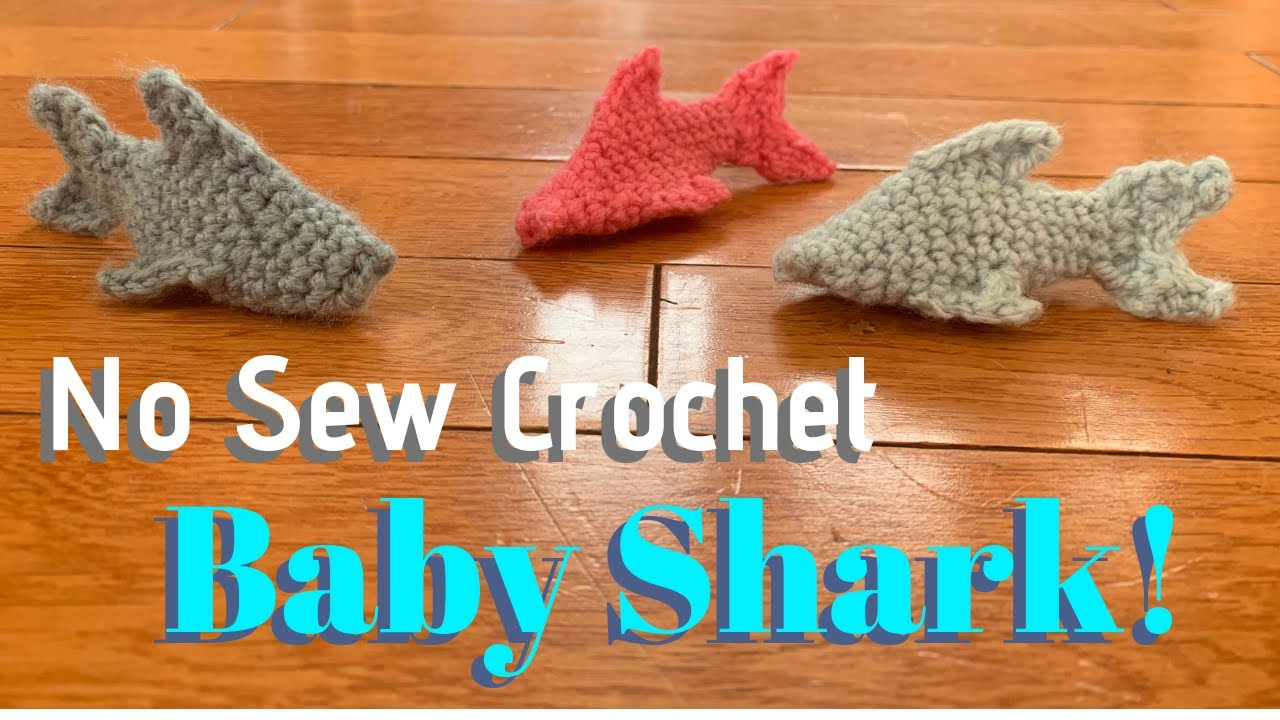 Free Crochet Pattern | Baby Shark Chunky Amigurumi | Keep Calm and ... | 720x1280