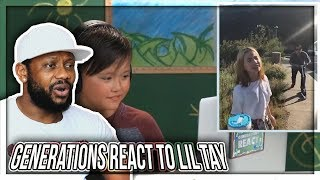 GENERATIONS REACT TO LIL TAY REAZIONE!!!