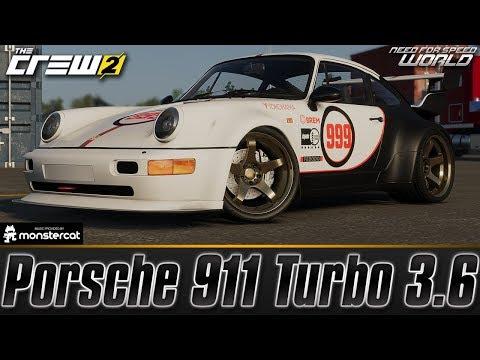 The Crew 2: Porsche 911 Turbo 3.6 | Customization & Test Drive | FULLY UPGRADED | ENDURO CLASSIC