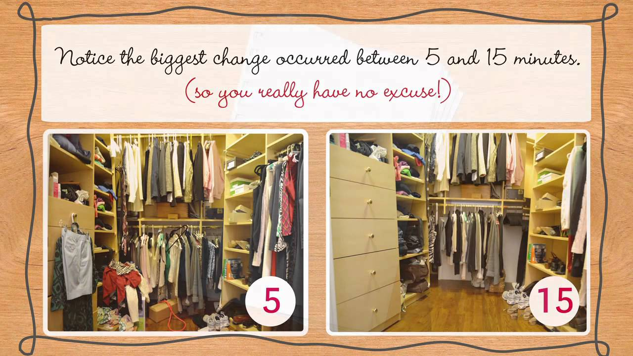 How To Clean Your Closet closet organization: tips for cleaning up yours in 5 minutes - youtube