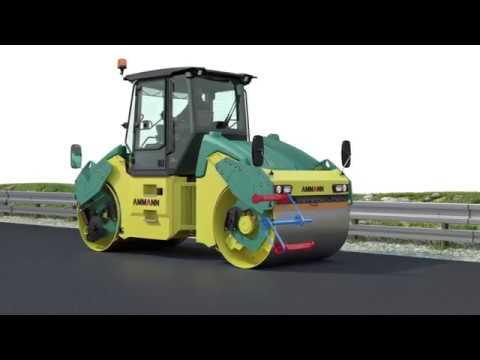 Как устроена осцилляция на дорожном катке? / AMMANN / Oscillation Technology