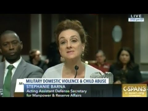 Hearing On Domestic Violence And Child Abuse In The U.S. Military