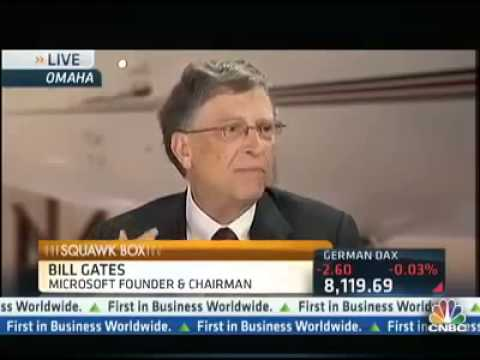 Warren Buffett & Bill Gates on Investment Strategy, Berkshire Hathaway, Insurance, Trading Stocks