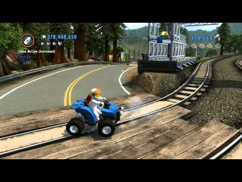 Thumbnail: LEGO City Undercover 100% Guide - Fort Meadows (Overworld Area) - All Collectibles