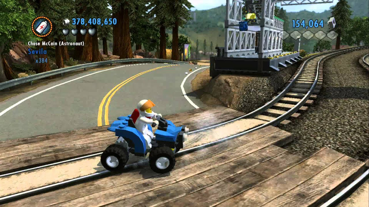 LEGO City Undercover 100% Guide – Fort Meadows (Overworld Area) – All Collectibles
