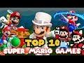 Top 10 Mario Games (With Super Mario Odyssey)