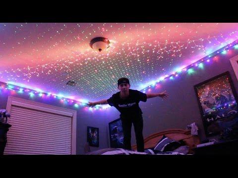 INSANE INDOOR CHRISTMAS LIGHTS!!!