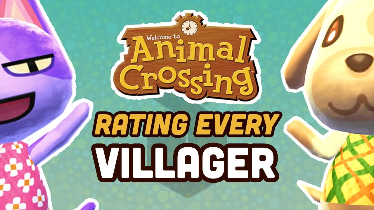 Rating Every Villager In New Horizons Youtube