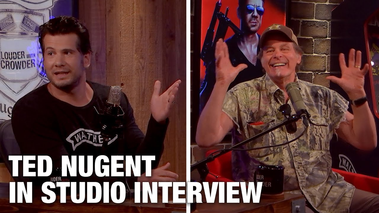 Steve Crowder - Ted Nugent Raw, Unfiltered and HILARIOUS!  | Louder with Crowder